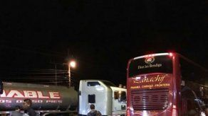 Una colisión múltiple se registró en La Espiga de La Chorrera