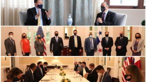 Subsecretario Krach se reúne con canciller y líderes de empresas de telecomunicación