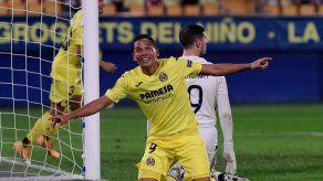 El Villarreal vuela en la Europa League con un doblete de Carlos Bacca
