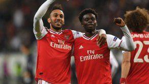 Arsenal arranca con fuerza la Europa League con goleada en Fráncfort