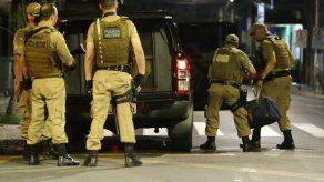Ladrones de banco atacan otra localidad en Brasil