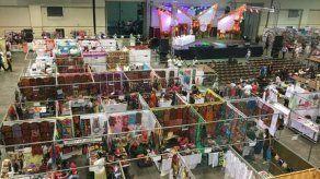 Inauguran la Feria Nacional de Artesanías en Atlapa