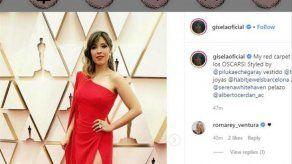 Gisela: deslumbrante en la alfombra roja de los Óscar