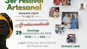 Festival Artesanal Panamá Viejo este domingo 29 de septiembre