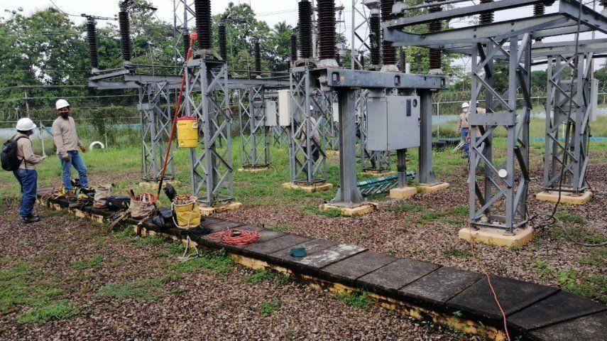Los trabajos de mantenimiento a la subestación eléctrica de la potabilizadora de Chilibre se realizaron para mantener operativa la subestación y evitar fallas eléctricas.