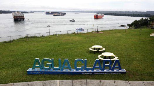 El Centro de Visitantes de Agua Clara.
