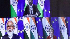 En la cumbre también discutió la pandemia de coronavirus y la situación en India.