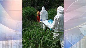 Sinaproc realiza extracción de cadáver en avanzado estado de descomposición en Río Mula