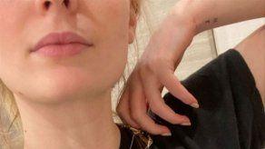 Sophie Turner tiene tatuadas las iniciales de su marido y de su hija en la muñeca