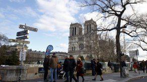 Falta mucho para reconstruir la Catedral de Notre Dame