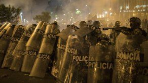 HRW: policía de Perú disparó de forma peligrosa en protestas
