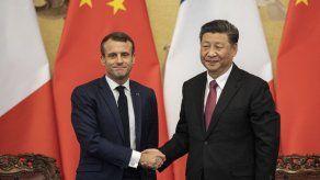 Macron defiende ante Xi el multilateralismo como respuesta a la pandemia