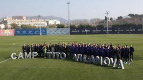 El Barcelona renombra su campo de entrenamiento en homenaje a Tito Vilanova