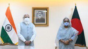 Finaliza visita de primer ministro indio a Bangladesh