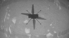 La NASA no ha detallado las horas y duración exacta de este primer vuelo de prueba de Ingenuity, en Marte.