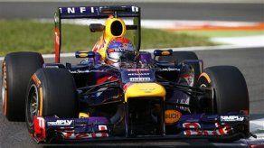 Vettel domina prácticas en GP de Italia