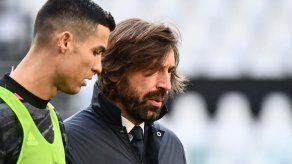 Pirlo no teme sanciones contra la Juventus por proyecto de Superliga