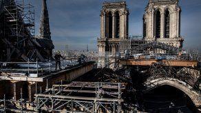 El incendio que devastó la catedral Notre Dame de París y conmocionó al mundo.
