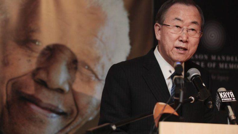 Ban Ki-moon: Mandela fue uno de los grandes ejemplos de la Historia