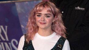 ¿Qué encierra el llamativo cambio de look de Maisie Williams?