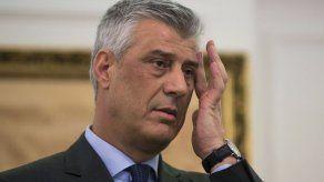Presidente de Kosovo imputado de crímenes de guerra