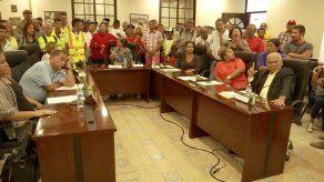 Se caldean los ánimos en el Consejo Municipal de Arraiján