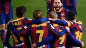 El Barcelona gana 3-0 en prórroga al Sevilla y pasa a final de Copa del Rey