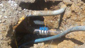 Culminan trabajos de reparación de tubería en la Vía España