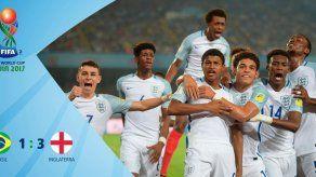 Inglaterra vence a Brasil y avanza a final de Mundial Sub17