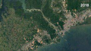 Actualización de Google Earth Timelapse incluye visualización del Canal de Panamá y el Volcán Barú