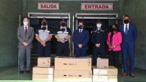 Embajada de EEUU entrega a la Policía dos servidores valorados en $233 mil para reforzar su sistema de seguridad