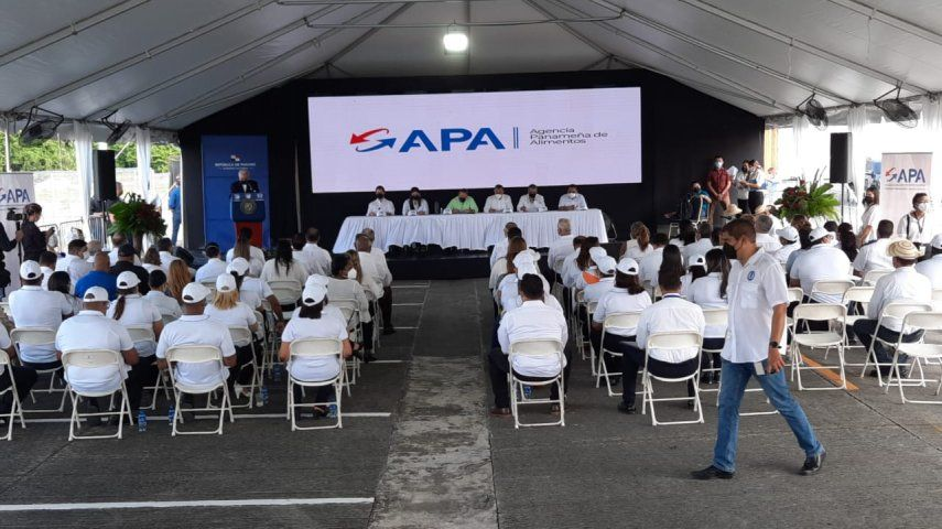 Acto de activación de la Agencia Panameña de Alimentos (APA).