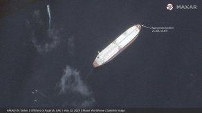 """Imágenes no muestran grandes daños en barcos """"saboteados"""""""