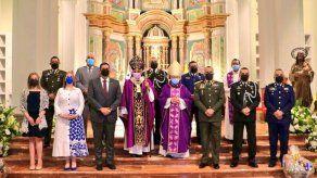 Eucaristía dominical es dedicada a los 46 caídos de la Fuerza Pública por el COVID-19