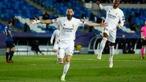 El Real Madrid gana 3-1 al Atalanta y se mete en cuartos de Champions