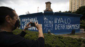 México conmemora Día de la Raza sin la estatua de Colón