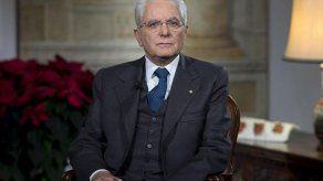 Presidente de Italia pide una ley electoral homogénea antes de ir a comicios
