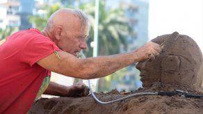 Comienza el Primer Festival Internacional de Esculturas de Arena en Acapulco