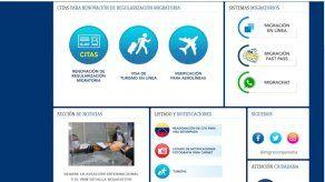 Migración anuncia reasignación de citas en el Consulado de Panamá en Venezuela a través de web
