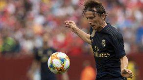 Modric sufre una lesión muscular a una semana de la Liga de Campeones