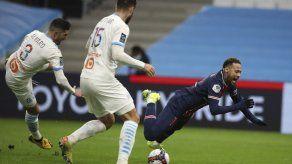 PSG descarta a Neymar para partido de copa contra Lille