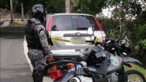 Policía recupera en Parque Lefevre camioneta robada en Arraiján