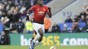 Rashford y Pogba impulsan al United para vencer a Leicester