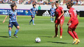 Partido amistoso entre las selección femenina de Panamá y Japón.