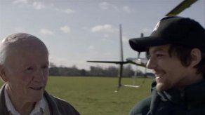 La enternecedora amistad de Louis Tomlinson con un anciano de 83 años