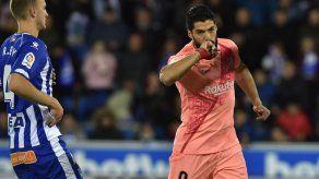 El Barça da otro paso al título; vence al Alavés