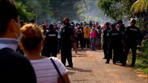 El desalojo se realizó en el corregimiento de Burunga, distrito de Arraiján.
