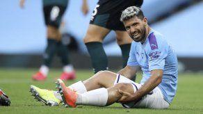 Agüero se opera la rodilla: todo salió bien