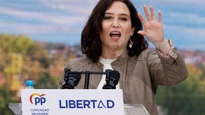 Isabel Díaz Ayuso, presidenta regional de Madrid.