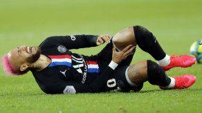 Neymar se perderá otro juego del PSG por lesión